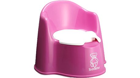 BABYBJÖRN Nočník-křesílko – Pink