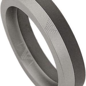 Emporio Armani Dvoubarevný prsten EGS2130040 62 mm