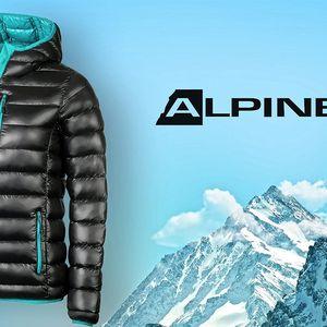 Prošívaná zimní bunda Alpine Pro