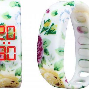 Silikonové LED hodinky se zajímavými motivy