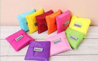 Skládací nákupní taška - mnoho barev