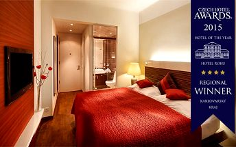 3denní luxusní wellness pobyt pro 2 osoby v Karlových Varech v Resortu POPPY****