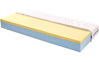 Matrace Visco Royal 80x200cm H3 bílá 80/200 cm