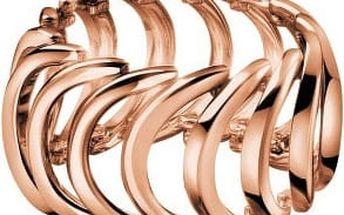 Calvin Klein Pozlacený ocelový prsten Body KJ2WPR1001 55 mm
