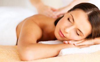 Dárkové poukazy na masáže dle výběru
