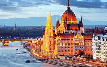 Budapešť pro DVA se snídaněmi v komfortním hotelu v centru + 2 děti zdarma