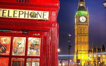 4denní zájezd do Anglie s ubytováním