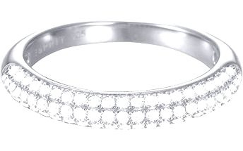 Esprit Třpytivý prsten se zirkony ESPRIT-JW50039 54 mm