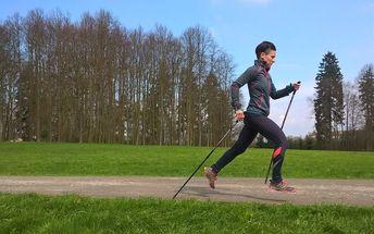 Nordic Running (běh s holemi) - 4 hodinový kurz