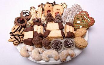13 druhů vánočního cukroví – 0,5 kg nebo 1 kg