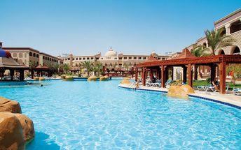 Hotel Sentido Mamlouk Palace Resort, Egypt, Hurghada, 8 dní, Letecky, All inclusive, Alespoň 5 ★★★★★, sleva 33 %, bonus (Levné parkování u letiště: 8 dní 499,- | 12 dní 749,- | 16 dní 899,- )