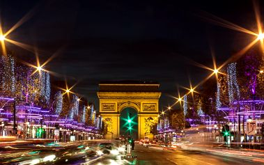 Adventní den v kouzelné Paříži s průvodcem