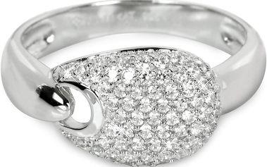 Silver Cat Stříbrný prsten s krystaly SC106 54 mm