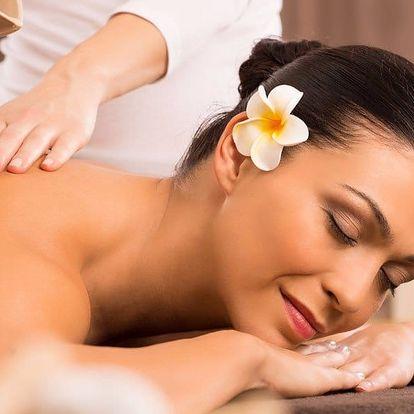 60minutová blahodárná masáž dle vlastního výběru