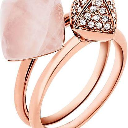 Michael Kors Luxusní sada dvou prstenů MKJ5255791 58 mm