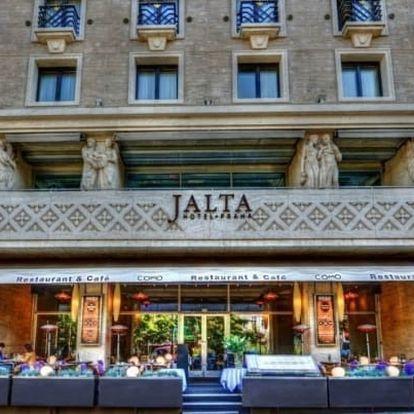 Praha luxusně v 5* hotelu se snídaní