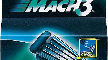 GILLETTE MACH3 holící strojek + náhradní hlavice 2 ks