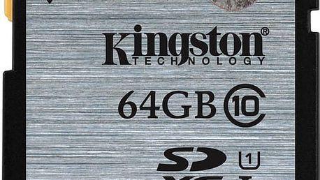 Kingston SDXC 64GB Class 10 UHS-I - SD10VG2/64GB