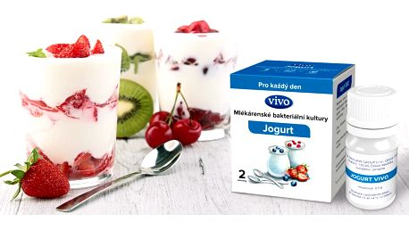 Mlékárenské kultury pro domácí výrobu jogurtů