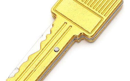 Zavírací nůž ve tvaru klíče