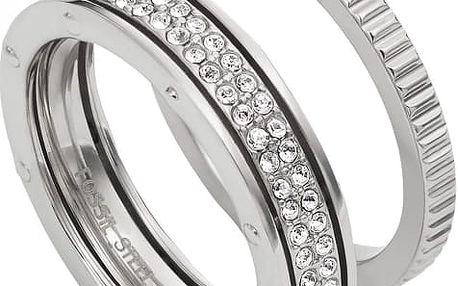 Fossil Sada dvou prstenů JF02239040 55 mm