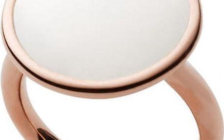 Skagen Módní bronzový prsten SKJ0823791 56 mm