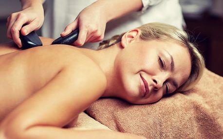 Hřejivá celotělová masáž lávovými kameny