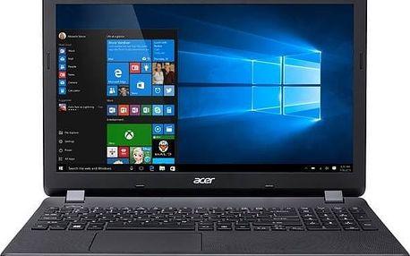 "Acer NTB Aspire E15 (ES1-571-P62E) - intel 3556U@1.7GHz,15.6"" FHD mat,4G,1TB,čt.pk,DVD,intel HD,3čl,HD cam,W10,černý"
