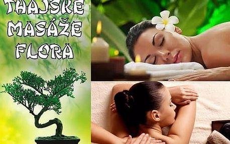 50% sleva na thajskou olejovou masáž od profesionálních rodilých Thajek