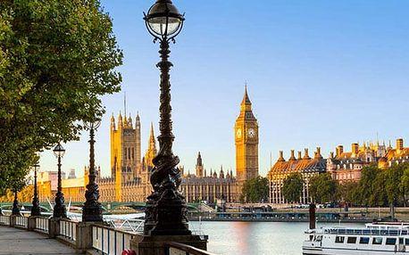 4denní zájezd do Londýna s ubytováním a snídaněmi