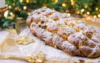 Šťastné a pletené - 1,5 kg vánočky z Kolbaby