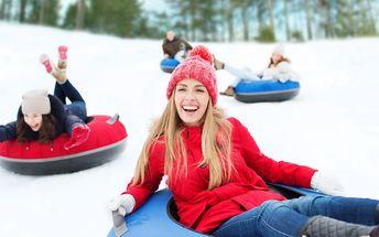 Snowtubing na Božím Daru - 4 jízdy