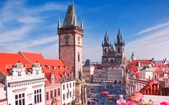 Za poznáním Prahy: Ubytování v hotelu Aladin