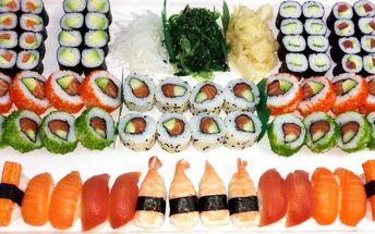 Sushi set plný lahodných rolek ze Sushi Miomi