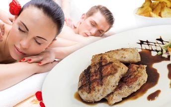 Chvilka pro dva: Uvolňující masáž a večeře