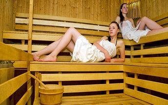 Relaxační dovolená u Trenčína s privátním wellness a sektem pro DVA