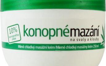 Konopné mazání 10% 250 ml