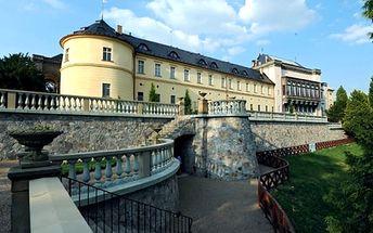 Wellness pobyt pro dva v romantickém 5* Chateau hotelu Zbiroh. Snídaně, prohlídka zámku, masáže.