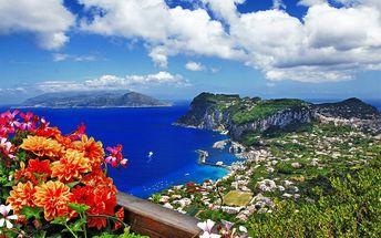 Itálie - Řím, Capri, Vesuv, Vatikán a Pompeje: 5denní zájezd vč. 2 nocí a snídaní, 6-10/2017