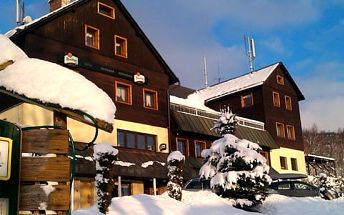 Až 6 dní s polopenzí pro dva v hotelu Krakonoš*** přímo ve skiareálu Benecko