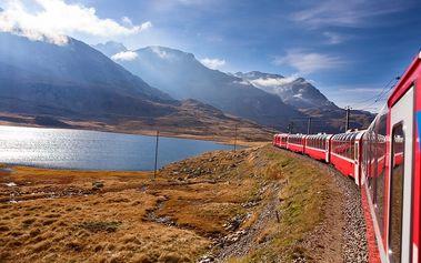 Švýcarsko: 3denní zájezd z Prahy pro 1 os.: jízda panoramatickým vlakem, prohlídka Tirana