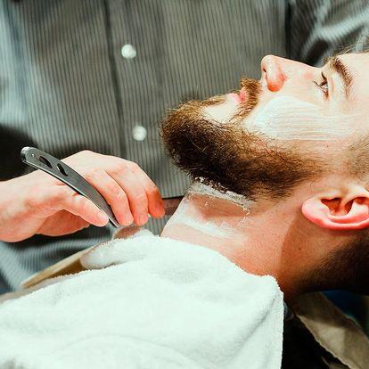 Gentlemanská péče ve vyhlášeném barber shopu
