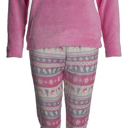 Valerie dream Dětské dívčí pyžamo Ho-Ho s soby