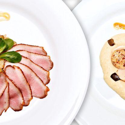 Gurmánův sen: 5chodové degustační menu pro 2
