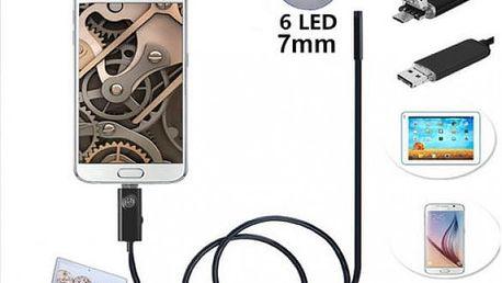 Endoskopická kamera na mobilní telefon a PC USB