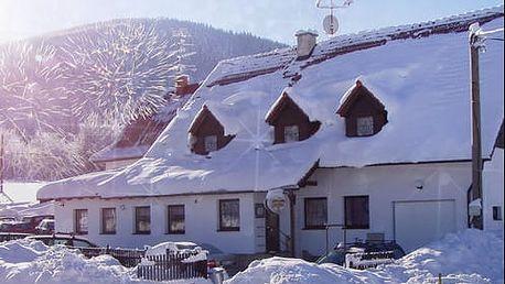Oslavy Silvestra v Hotelu U Lip s polopenzí, rautem, tombolou a novoročním ohňostrojem pro dva