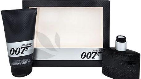 James Bond James Bond 007 - toaletní voda s rozprašovačem 50 ml + sprchový gel 150 ml