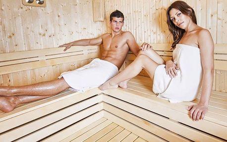 Privátní aromatická sauna nebo vířivka pro 2
