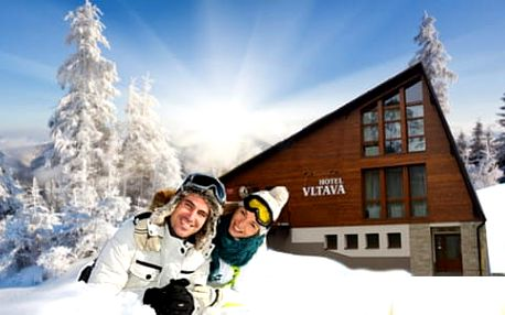 Hlavní sezona v Krkonoších s domácí kuchyní a ubytováním v Hotelu Vltava pro 2 + 2 děti do 12 let ZDARMA