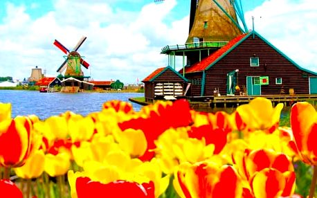 5denní poznávací zájezd do Amsterdamu